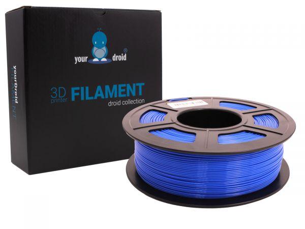 yourDroid PLA plus filament blau