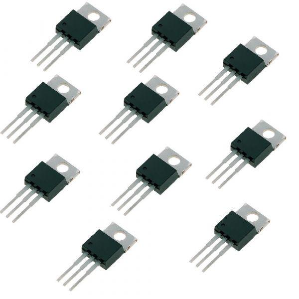 10er Set L7805CV Spannungswandler