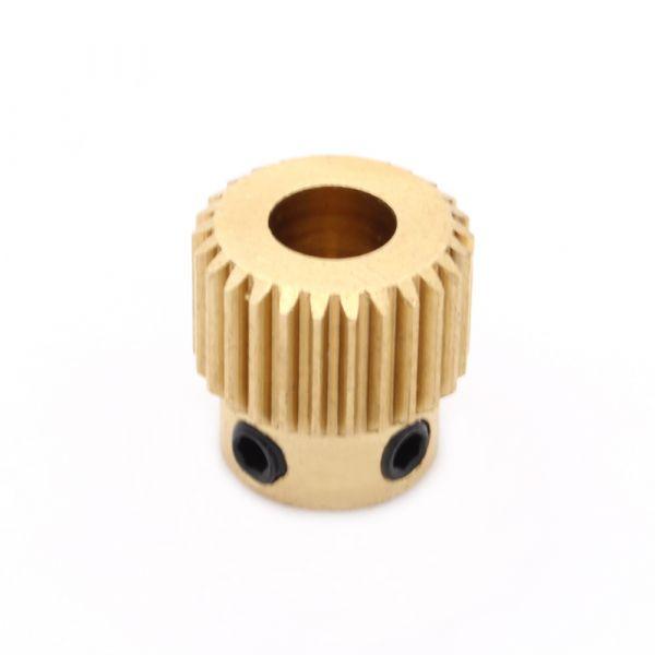 Extruder Vorschubrad für 1,75/3mm Filament 26 Zähne