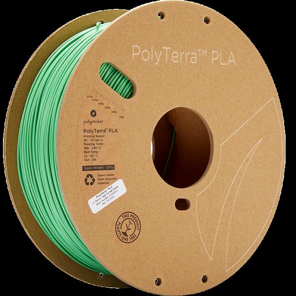 Polymaker PolyTerra PLA Filament Forrest Green 1.75mm 1kg