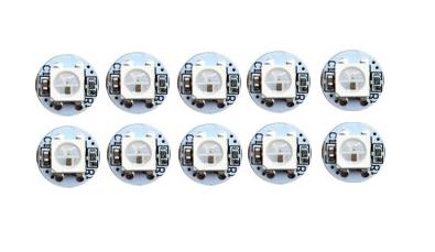 10er Set WS2812b mini Board LED RGB SMD 5050