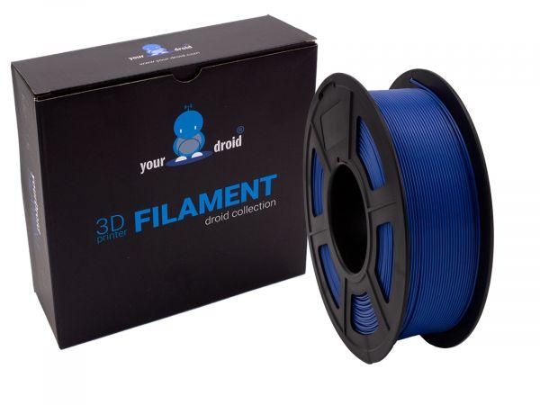 yourDroid PLA + filament blau-grau