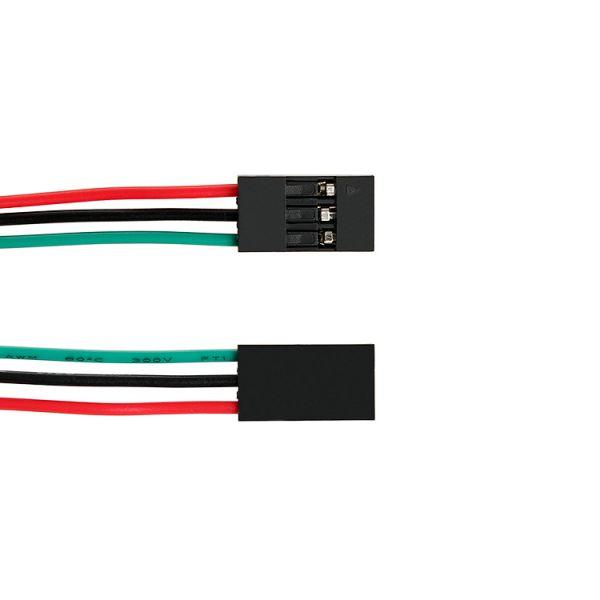 3 Pin Dupont / Jumper Kabel Buchse-Buchse 70 cm