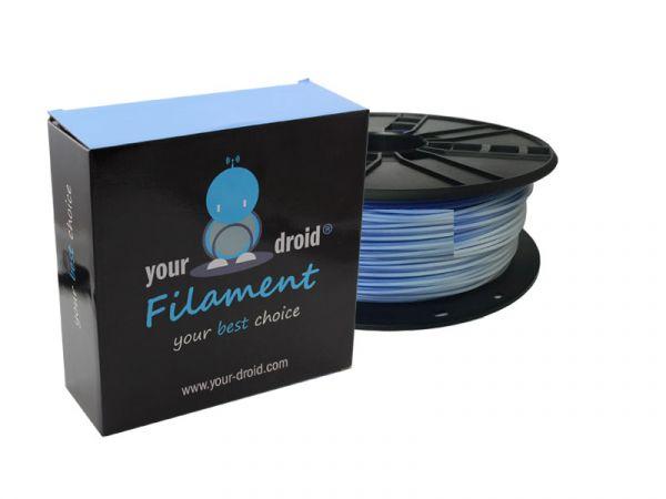 Your Droid PLA-Filament Colour Change Blue to White 1.75mm