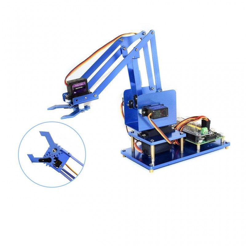 Bausatz: 4-DOF Roboterarm für Raspberry Pi Bluetooth-Wifi (Ohne Pi)