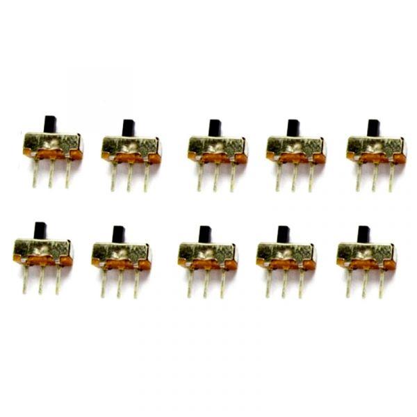 10er Set Schiebeschalter 0.5A 50V DC