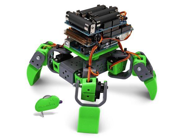 Ultraschall Entfernungsmesser Bausatz : Allbot® mit vier beinen velleman vr408 roboter bausatz kit arduino