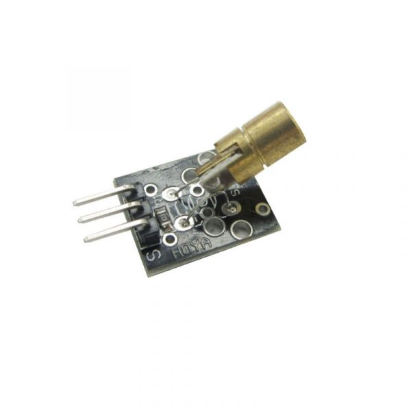5V Laser Modul 6mm 5mW 650nm