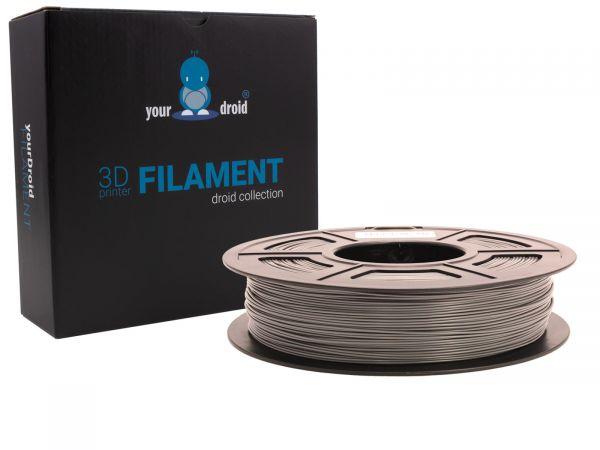 yourDroid TPU filament grau 1.75mm 500g