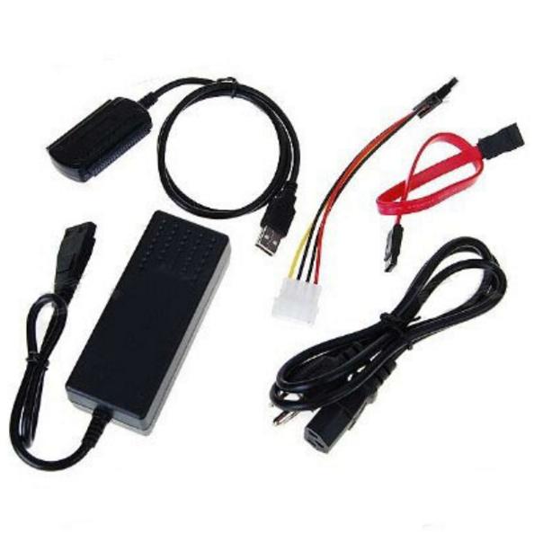 "USB2.0 zu IDE SATA Adapter Kabel 2,5"" 3,5"" 5,25"""