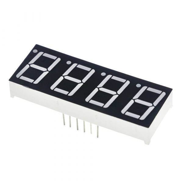 7-Segment Display 4 Bit Rot Common Anode 0.56""