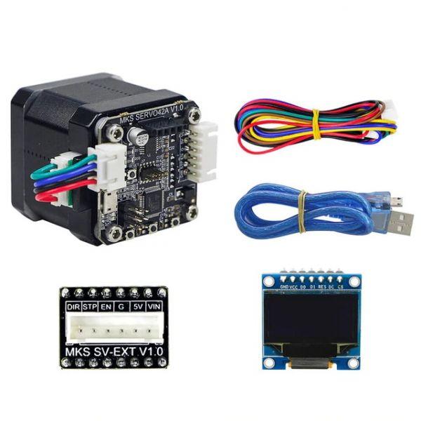 MKS SERVO42 Nema 17 closed loop Schrittmotor + Display