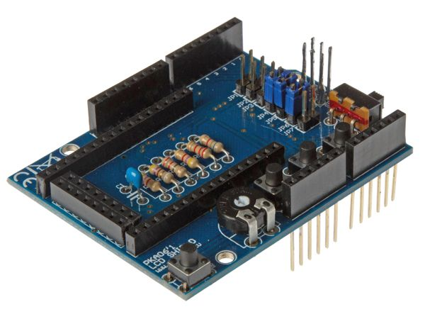 Velleman Bausatz KA06 LCD Shield für ARDUINO®