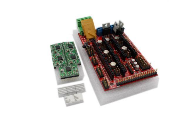 Ramps 1.4 Kit + 5x A4988 Schrittmotorentreiber