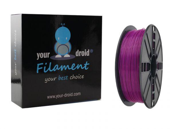 Your Droid ABS-Filament Purple 1.75mm 1kg