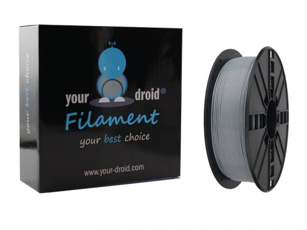 Your Droid ASA Filament Grey 1.75mm 1kg