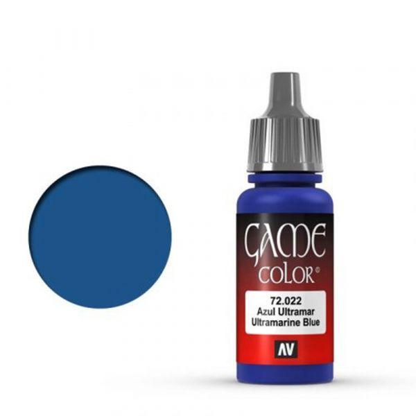 Vallejo Game Color Ultramarine Blue