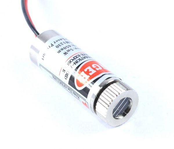 Lasermodul HLM1230 Linie, 5mW