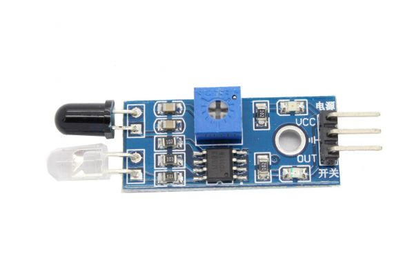 Kollisions und hinderniserkennung mit infrarot fertiges modul für