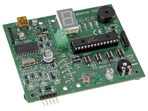 EDU10 USB PIC-Programmer und Experimentierkasten