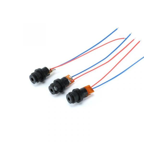 10x Laser Diode Modul 4.5V Punkt Rot