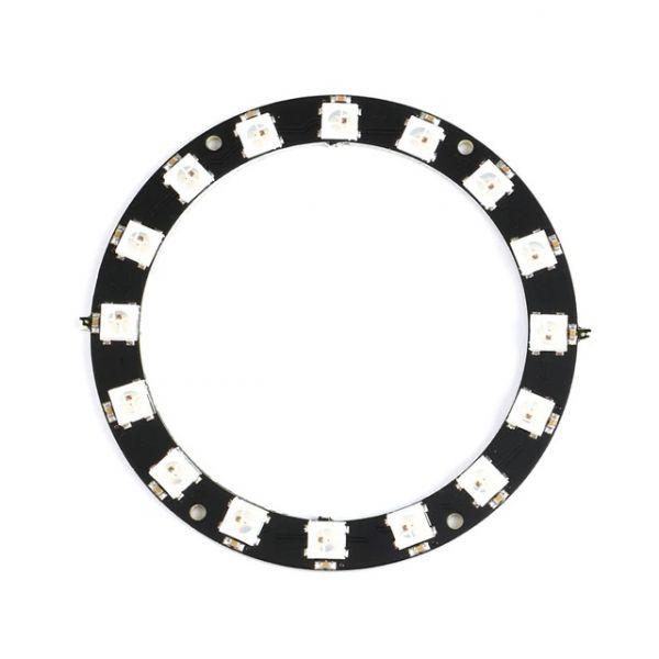 16Bit RGB LED Ring WS2812 5V ähnl. Neopixel
