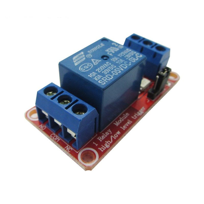 1 Kanal Relais Modul 5V High - Low Level Trigger einstellbar