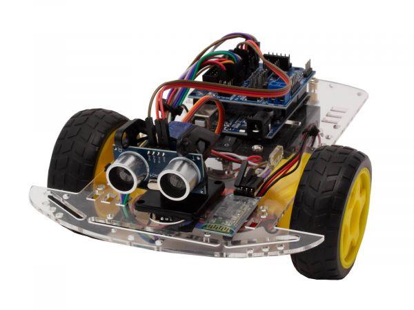 Bausatz 2WD Roboter Smart Car Arduino Kit