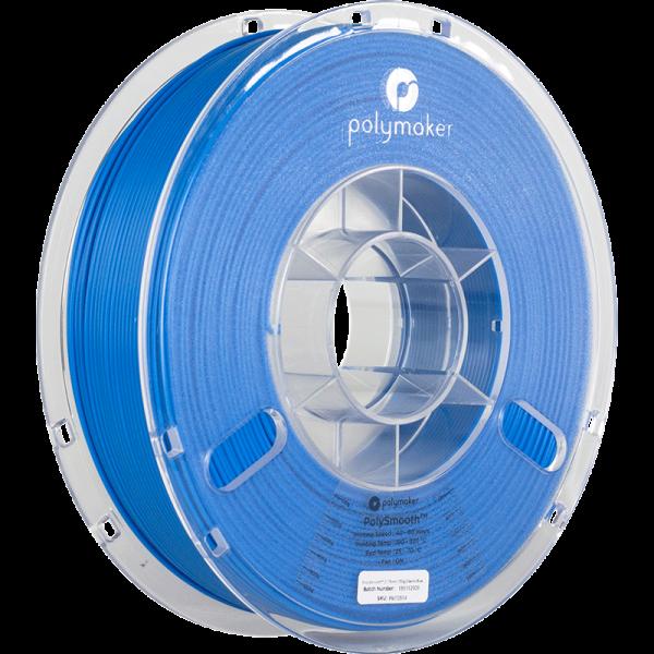Polymaker Polysmooth Filament Blau Electric Blue 1.75mm 750g