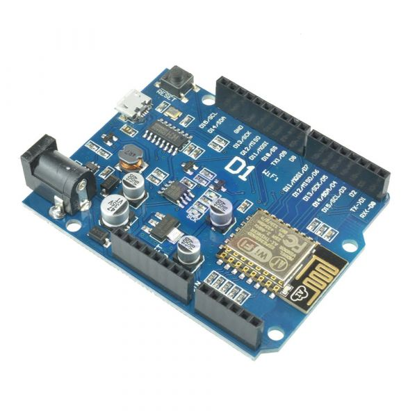 Wemos D1 Wifi Board ESP8266 CH340G Arduino/NodeMCU kompatibel