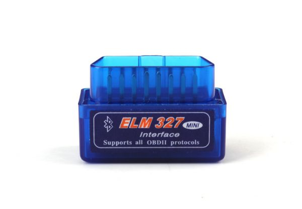 Mini ELM327 Bluetooth OBD2 Power Switch Interface KFZ Diagnose Tool