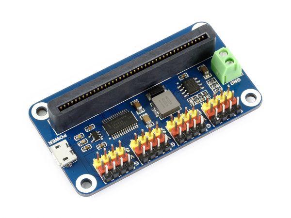 Waveshare micro:bit Servo Driver 16-Kanal 12-Bit I2C