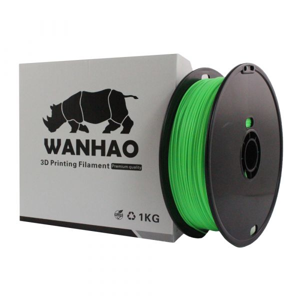 Wanhao PLA Filament Light Green 1.75mm