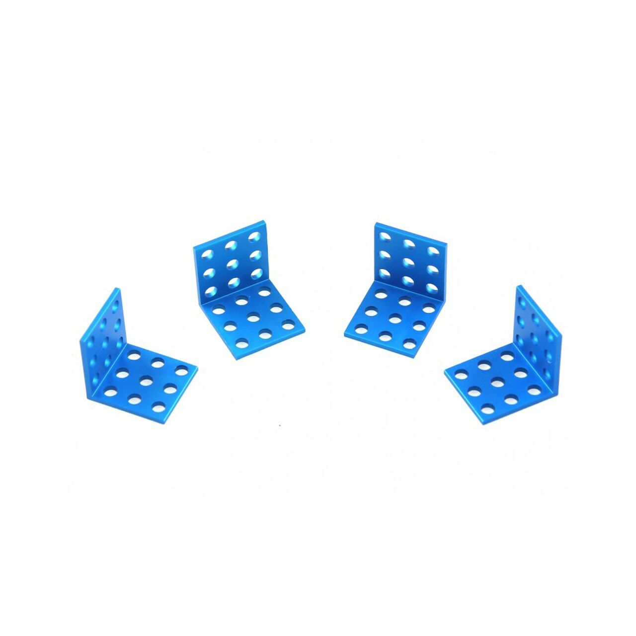 Makeblock Bracket 3x3-Blue (4-Pack)