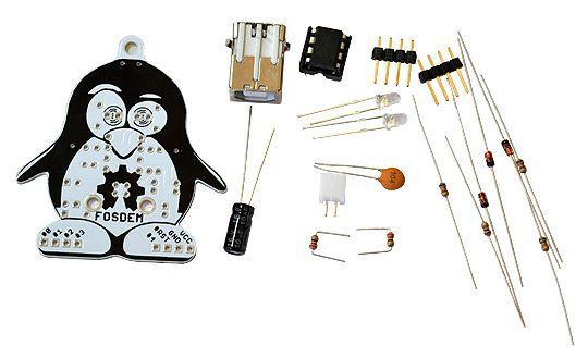 Bausatz: FOSDEM-85 Arduino kompatibler Mikrocontroller