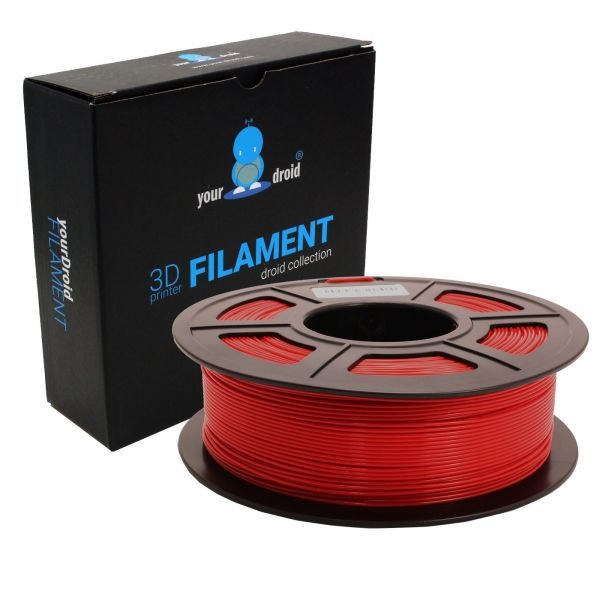 yourDroid PLA filament rot