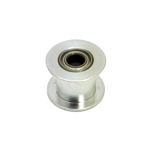 GT2 Zahnriemen Flachriemenscheibe 5mm Bohrung für 10mm Zahnriemen