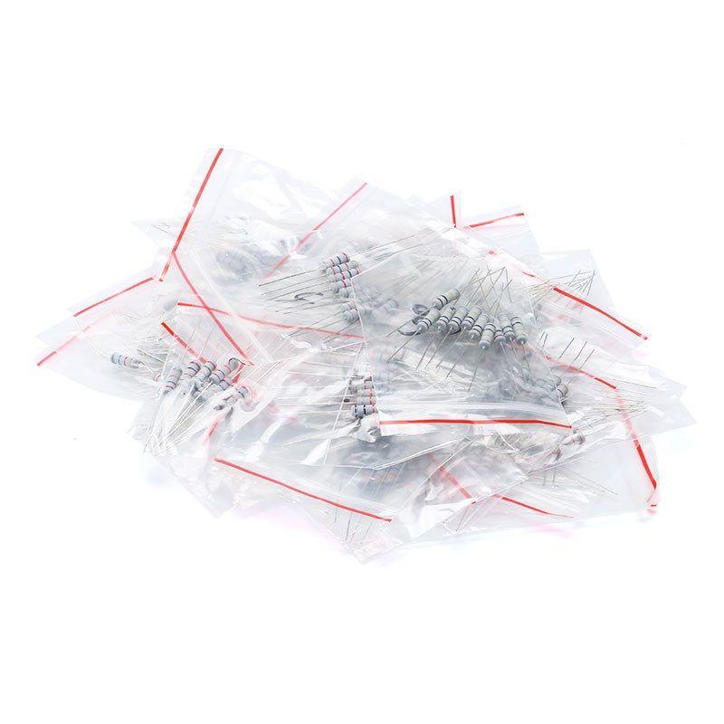 150 Kohleschichtwiderstände im Sortiment 2W 1K - 2M Ohm 5-