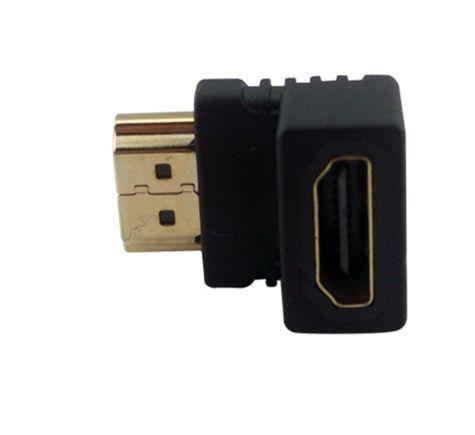 HDMI Winkel Adapter 90° HDMi A Buchse zu HDMI A Stecker