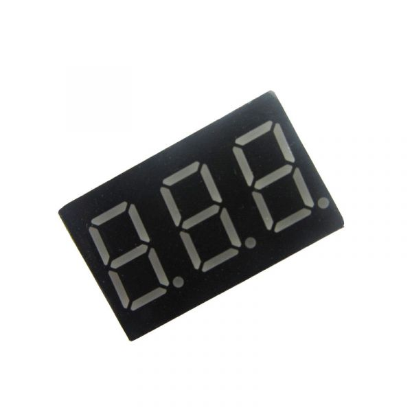 7-Segment Display 3 Bit Rot Common Cathode 0.36""