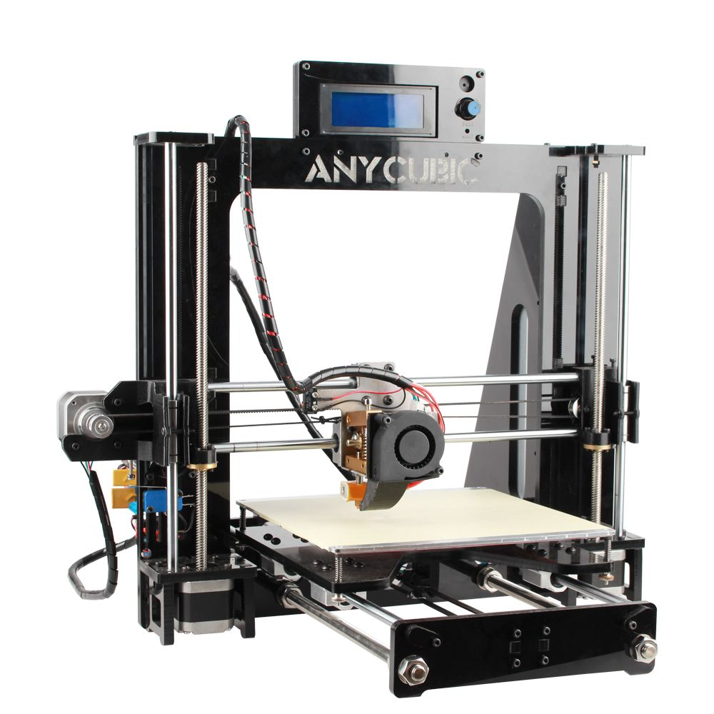 anycubic prusa i3 3d drucker bausatz lcd bildschirm usb sd karte reprap kit ebay. Black Bedroom Furniture Sets. Home Design Ideas