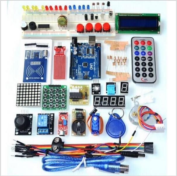 Starter kit für arduino uno r rfid im kunststoffkasten ebay
